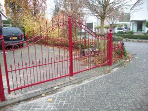 Goossens Lasbedrijf Dubbele poort